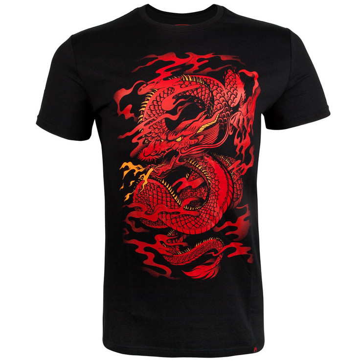 Venum Dragon's Flight T-Shirt Black/Red