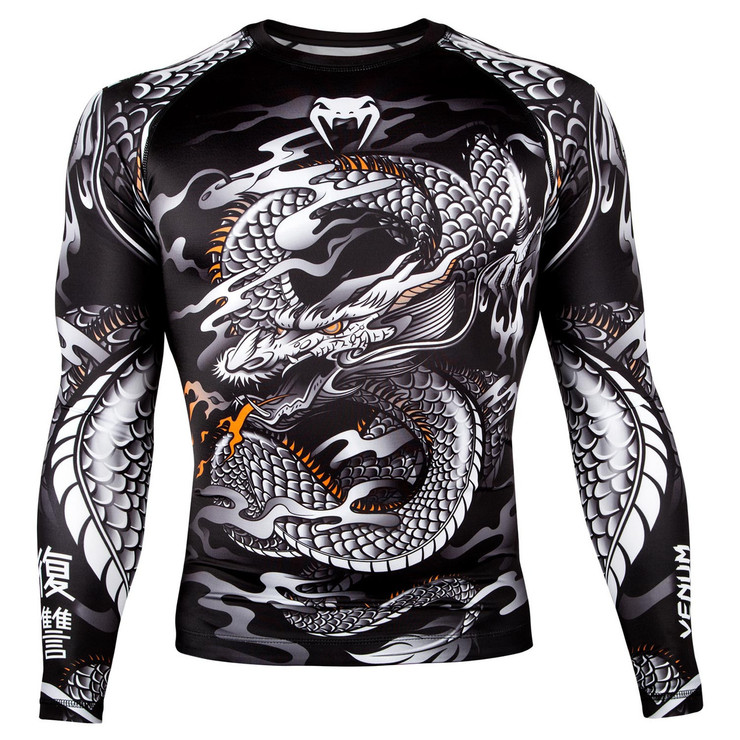Venum Dragon's Flight Long Sleeve Rash Guard