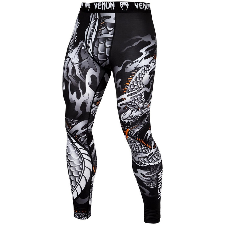 Venum Dragon's Flight Spats Black/White