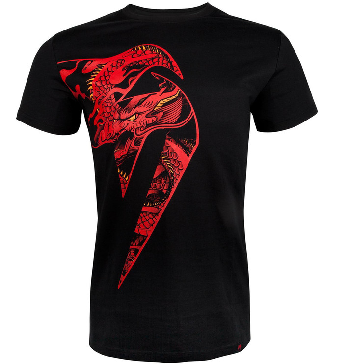 Venum Giant X Dragon T-Shirt Black/Red