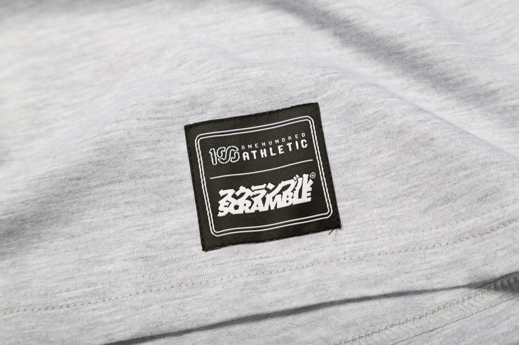 Scramble x 100 Athletic T-Shirt Grey