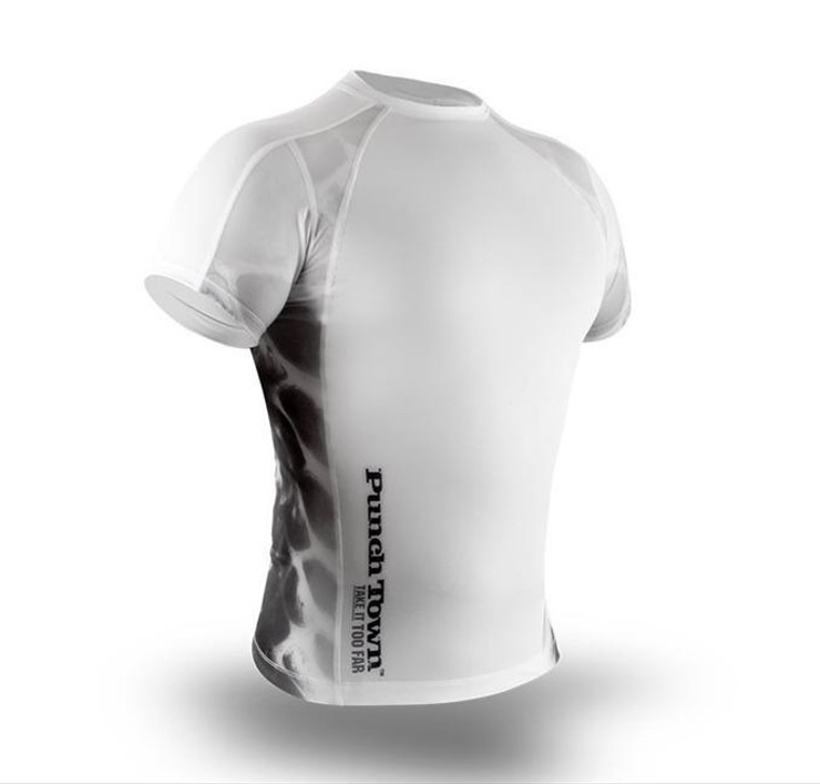PunchTown Ice Mamba Short Sleeve Rash Guard
