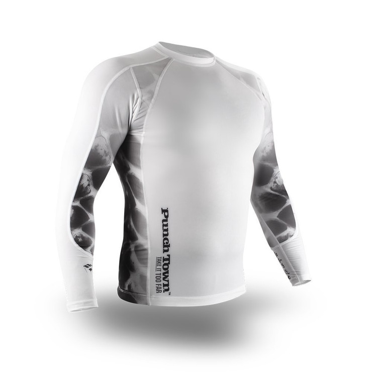 PunchTown Ice Mamba Long Sleeve Rash Guard