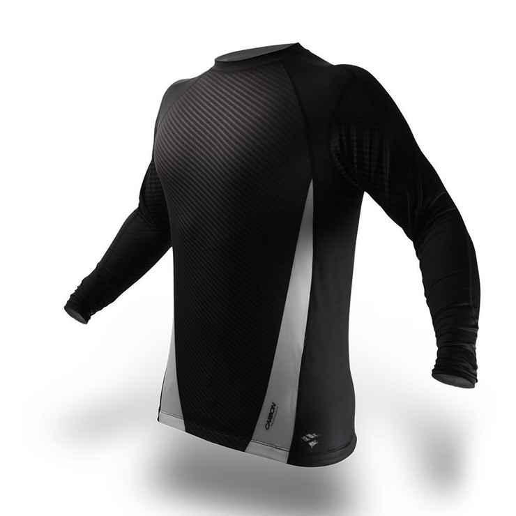 PunchTown Carbon Long Sleeve Rash Guard