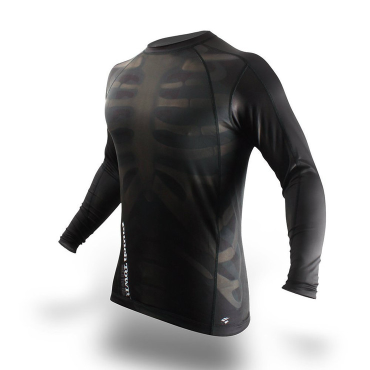 PunchTown Fracture Long Sleeve Rash Guard