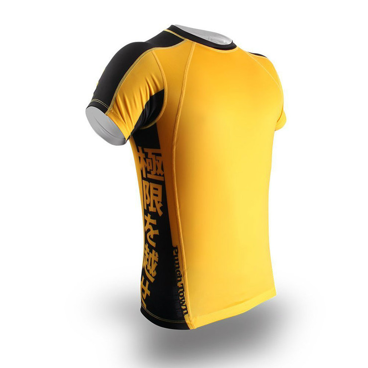 PunchTown Ode To Dragon Short Sleeve Rash Guard