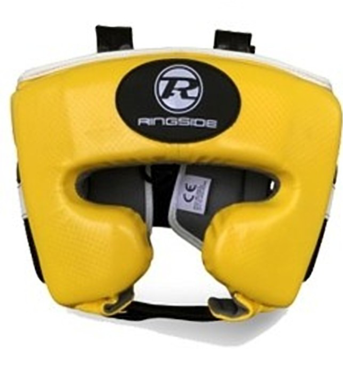Ringside Pro Fitness Head Guard Yellow/Black
