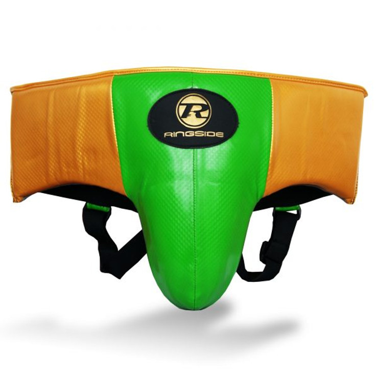 Ringside Pro Fitness Groin Guard Green/Gold