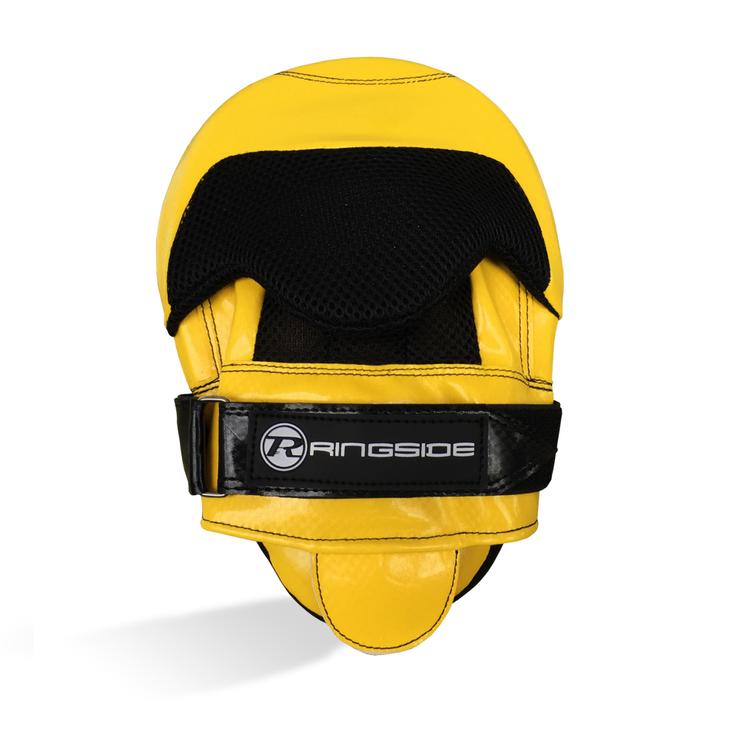 Ringside Pro Fitness Focus Mitts Yellow/Black