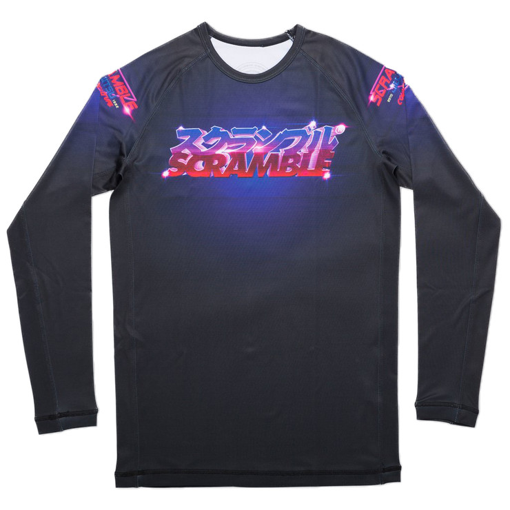 Scramble Lasertronic Long Sleeve Rash Guard