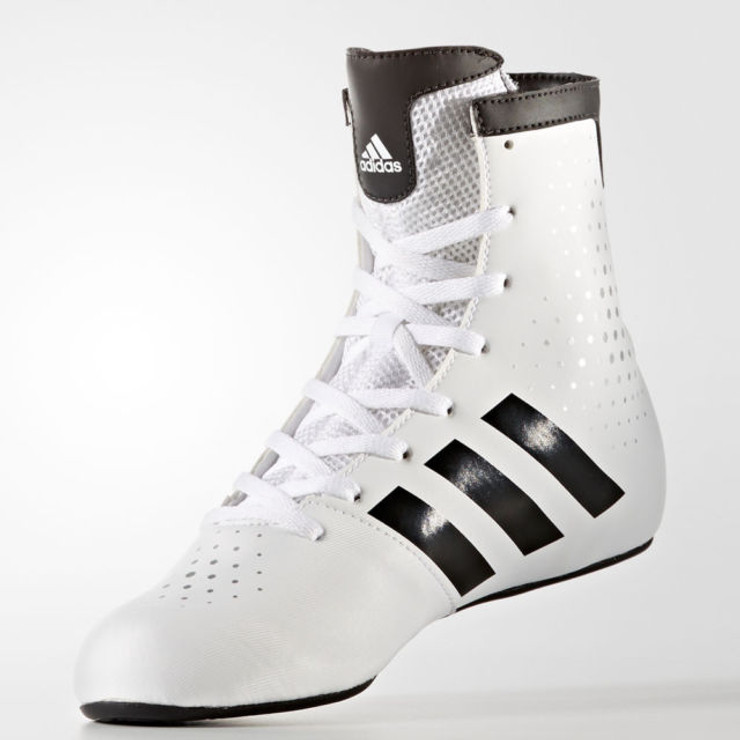 Adidas KO Legends Kids Boxing Shoes White/Black