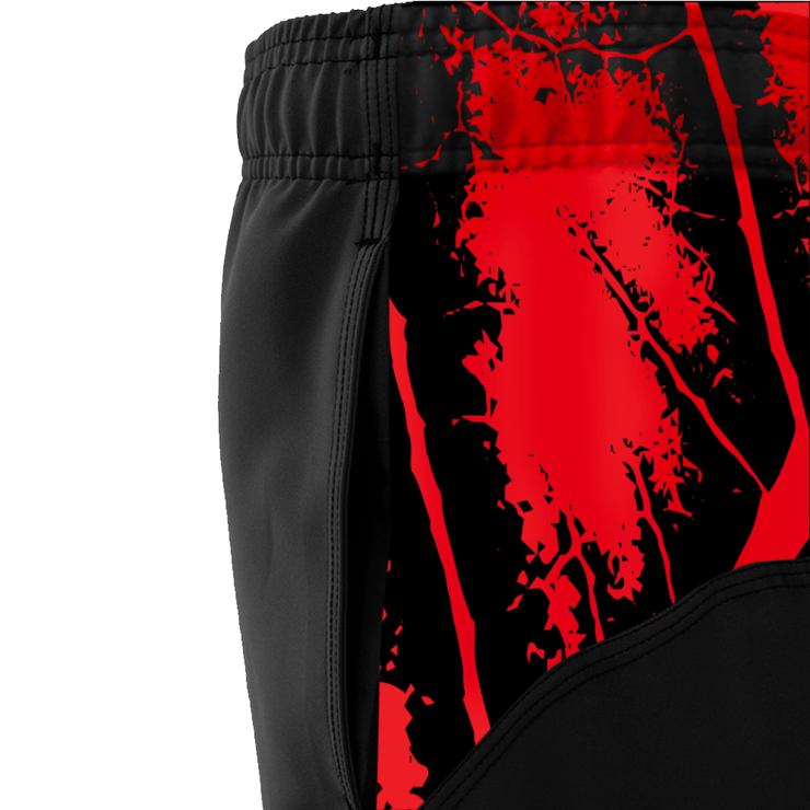 Clinch Gear AMRAP City Shorts Black/Red