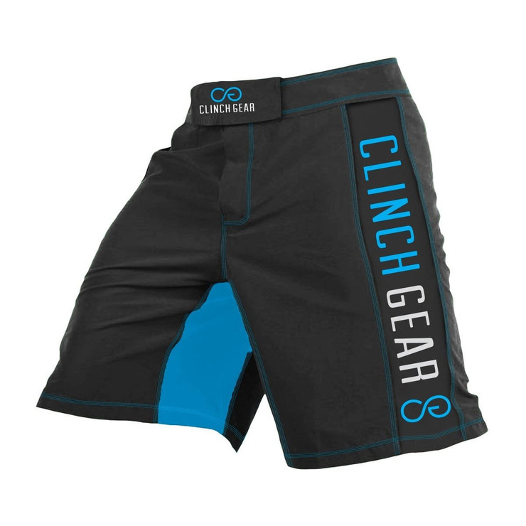 Clinch Gear Crossover 3 Flash Shorts Black/Blue
