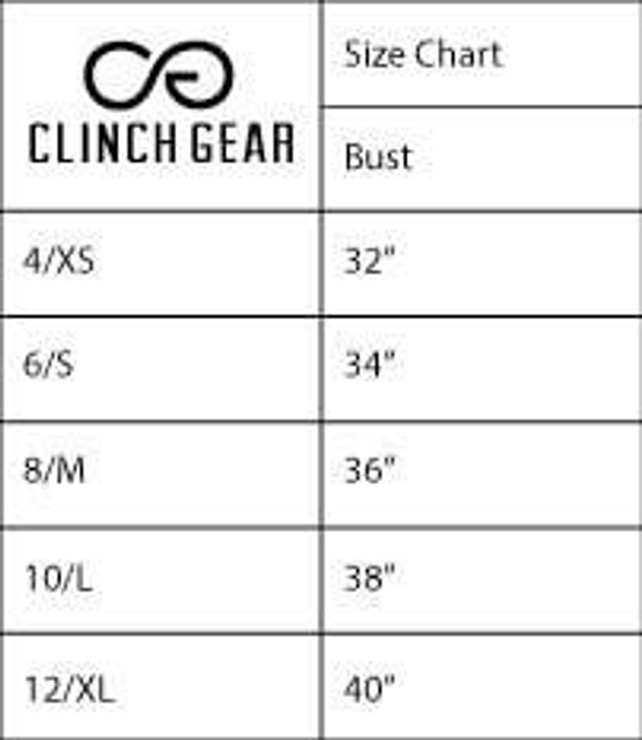 Clinch Gear Multi-Sport Racerback Sports Bra Coral