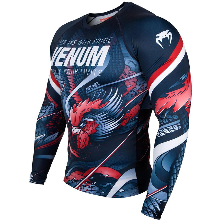 Venum Rooster Long Sleeve Rash Guard