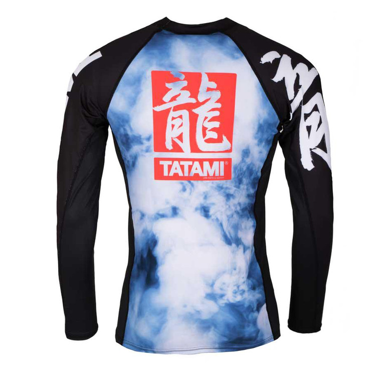 Tatami Fightwear Oriental Dragon Long Sleeve Rash Guard
