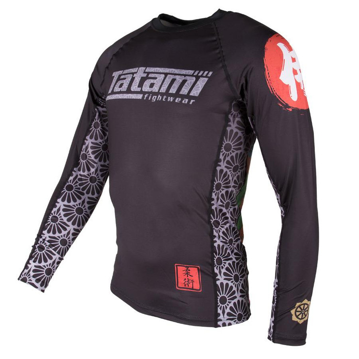 Tatami Fightwear Samurai Long Sleeve Rash Guard