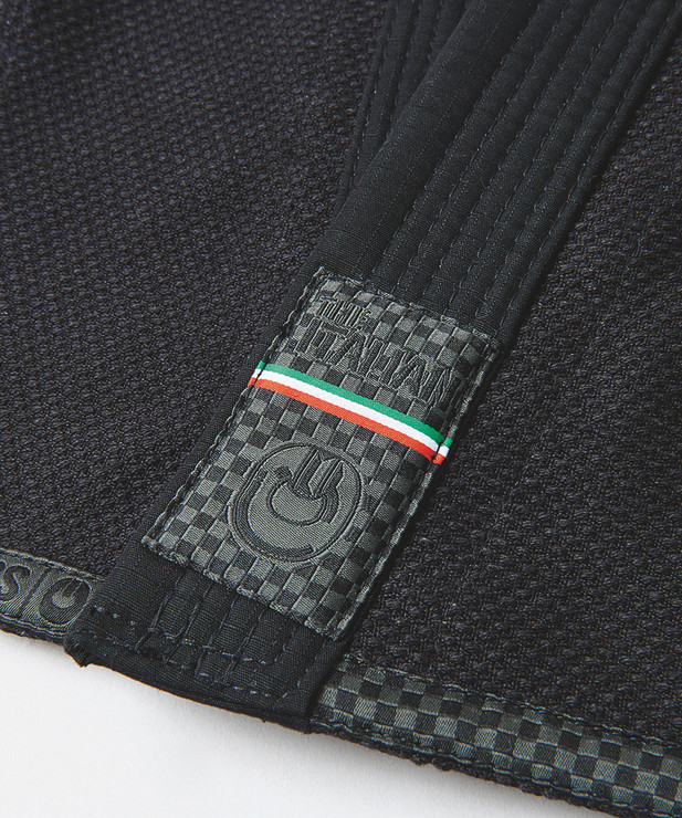 Gr1ps Athletics The Italian BJJ Gi Black
