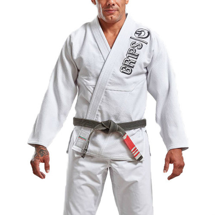 Gr1ps Athletics The Italian BJJ Gi White