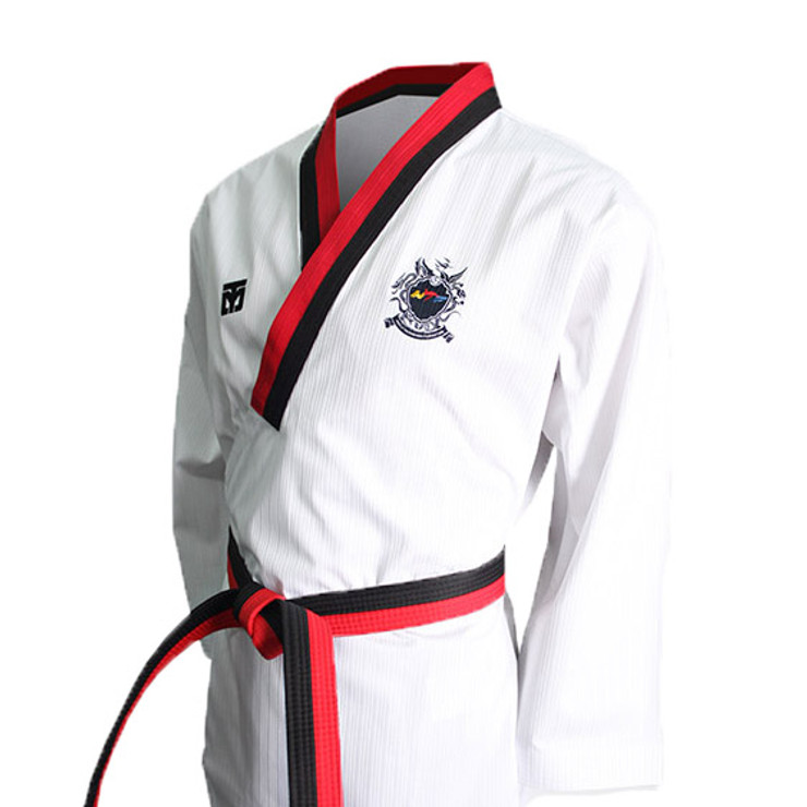 Mooto Pride 3 Kids Taekwondo Uniform Black Neck