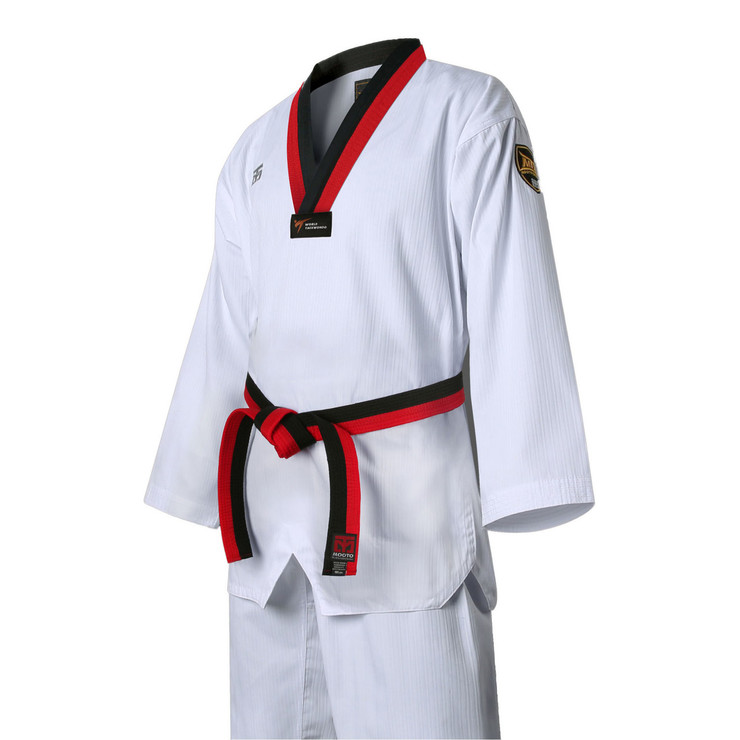 MTX S2 Basic Kids Taekwondo Uniform White Neck