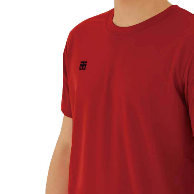 Mooto Cool Round T-Shirt Red