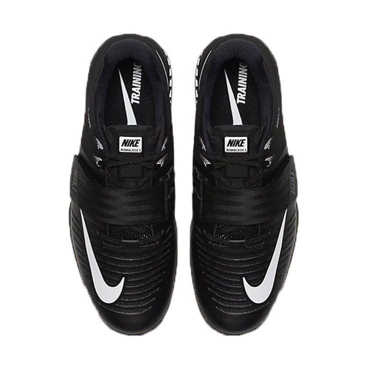 Nike Romaleos 3 Weightlifting Shoes Black/White
