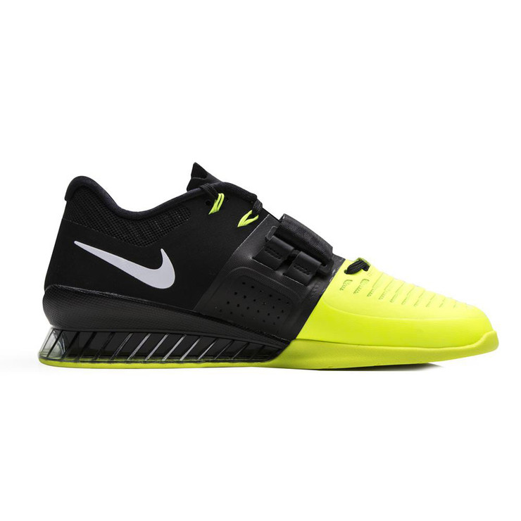 Nike Romaleos 3 Weightlifting Shoes Black/Volt