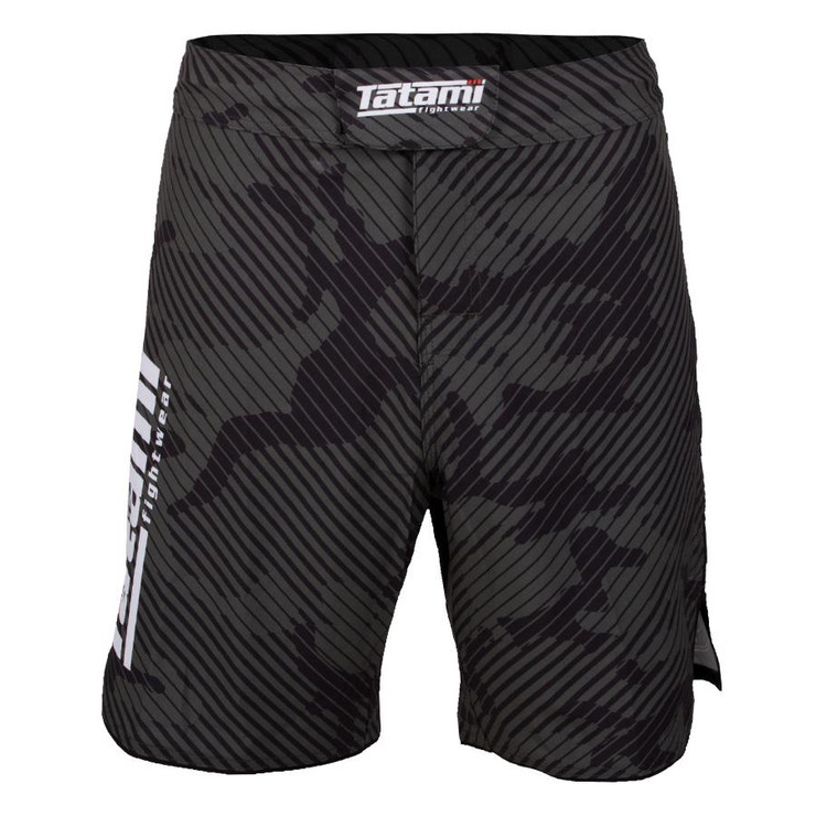 Tatami Fightwear Renegade Camo Fight Shorts Black/Green