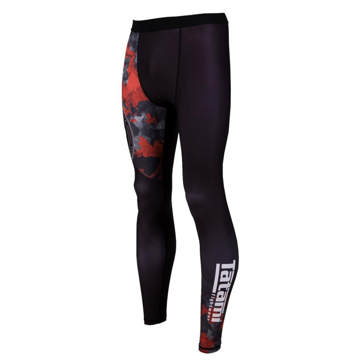 Tatami Fightwear Renegade Camo Spats Black/Red