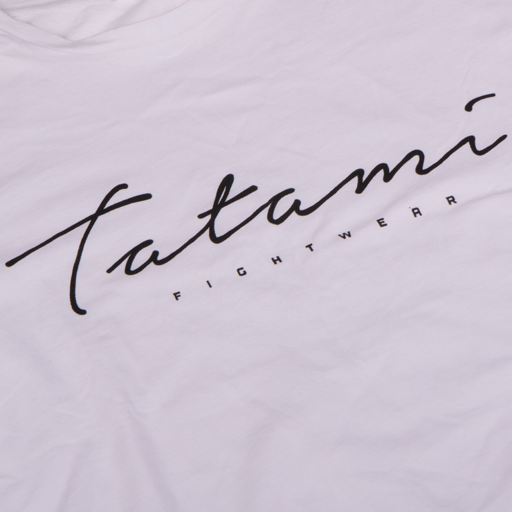Tatami Fightwear Script T-Shirt White