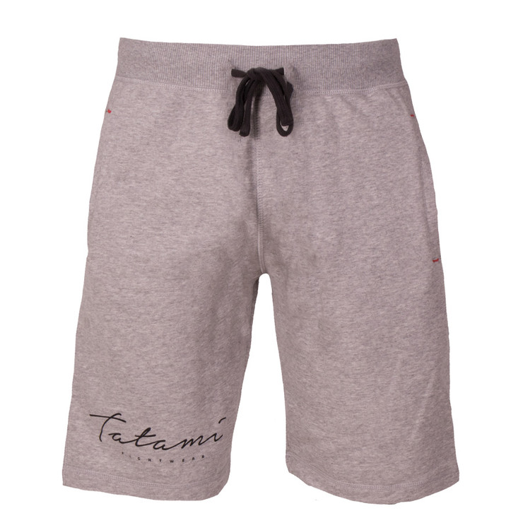 Tatami Fightwear Script Sweat Shorts Grey