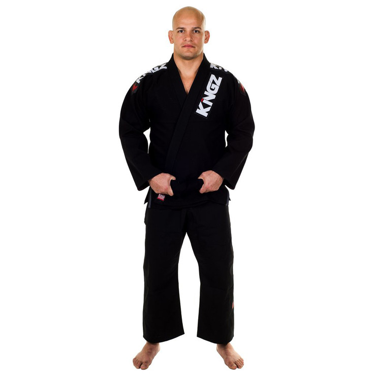 Kingz Ultralight BJJ Gi Black