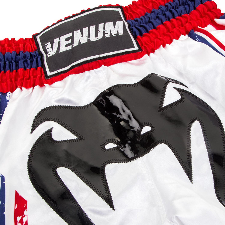 Venum Bangkok Spirit Muay Thai Shorts White