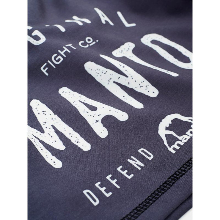 Manto Old School Fight Shorts Grey