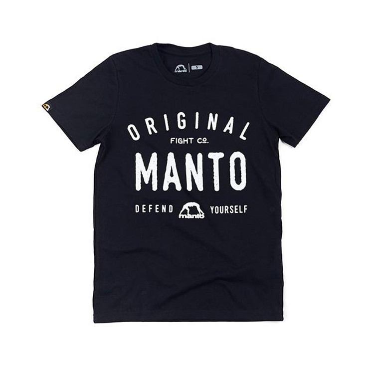 Manto Old School T-Shirt Black