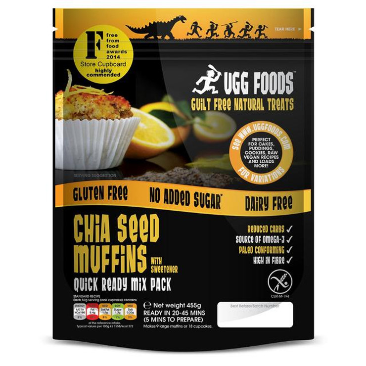 Ugg Foods Chia Seed Muffins