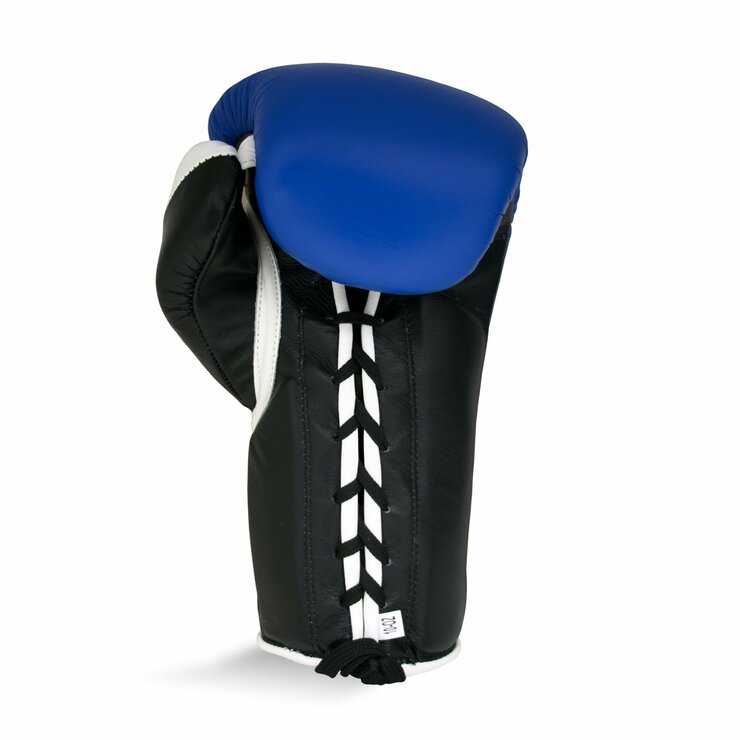 Ringside Pro Contest Boxing Gloves Blue/Black