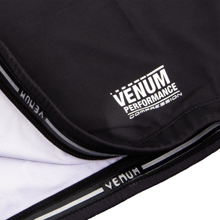 Venum Contender 3.0 Long Sleeve Compression T-Shirt Black/White