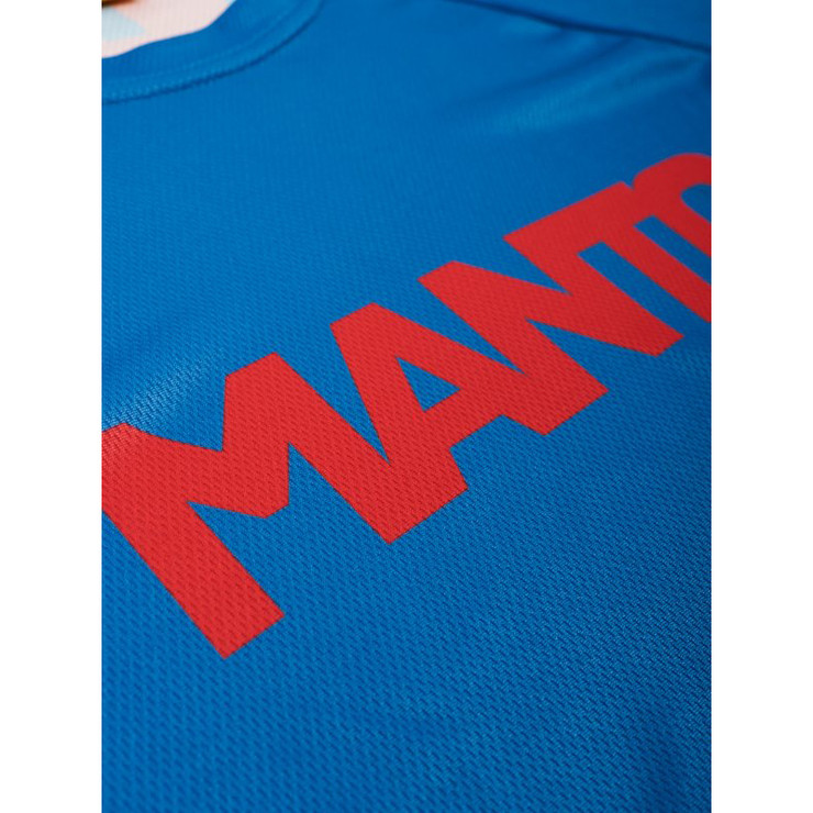 Manto Technical Performance T-Shirt Blue