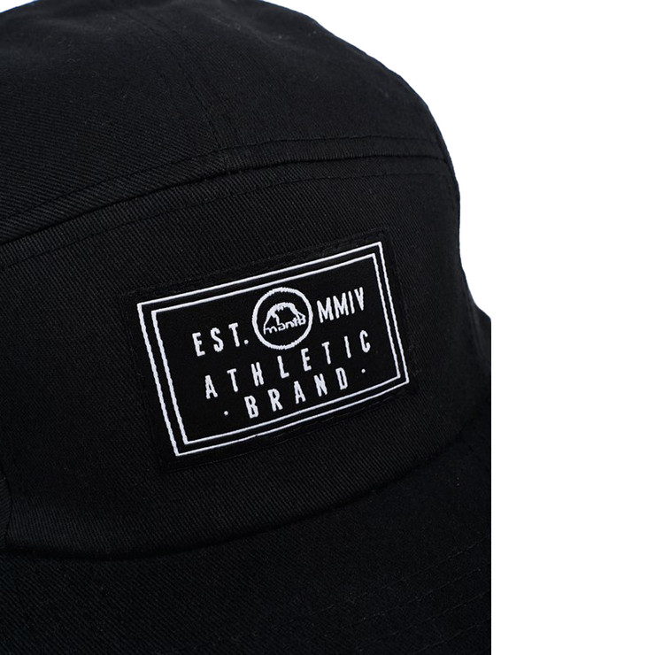 Manto Label Cap Black