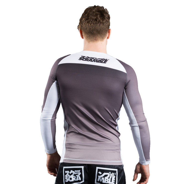 Scramble Ranked V3 Rashguard Black