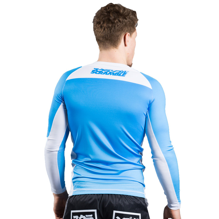 Scramble Ranked V3 Rashguard Blue