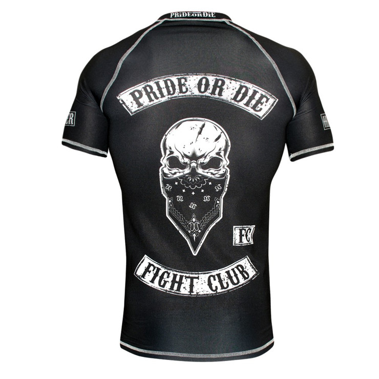 Pride Or Die Fight Club Rash Guard