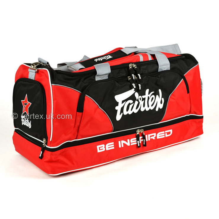Fairtex BAG2 Heavy Duty Gym Bag Red