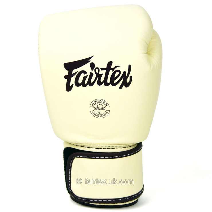 Fairtex BGV16 Leather Boxing Gloves Khaki