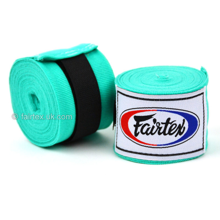 Fairtex HW2 Hand Wraps Mint Green