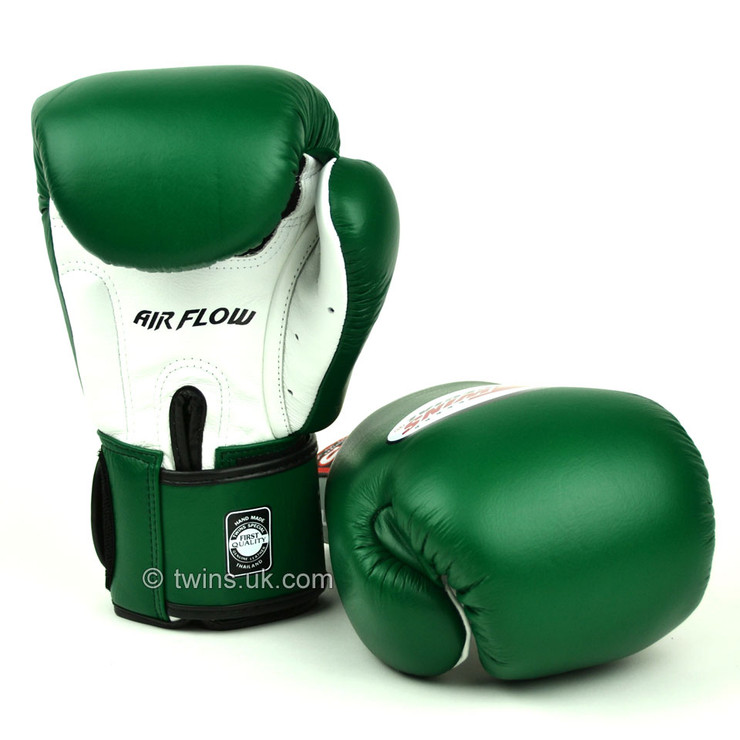 Twins BGVLA-2 Air Flow Boxing Gloves Dark Green