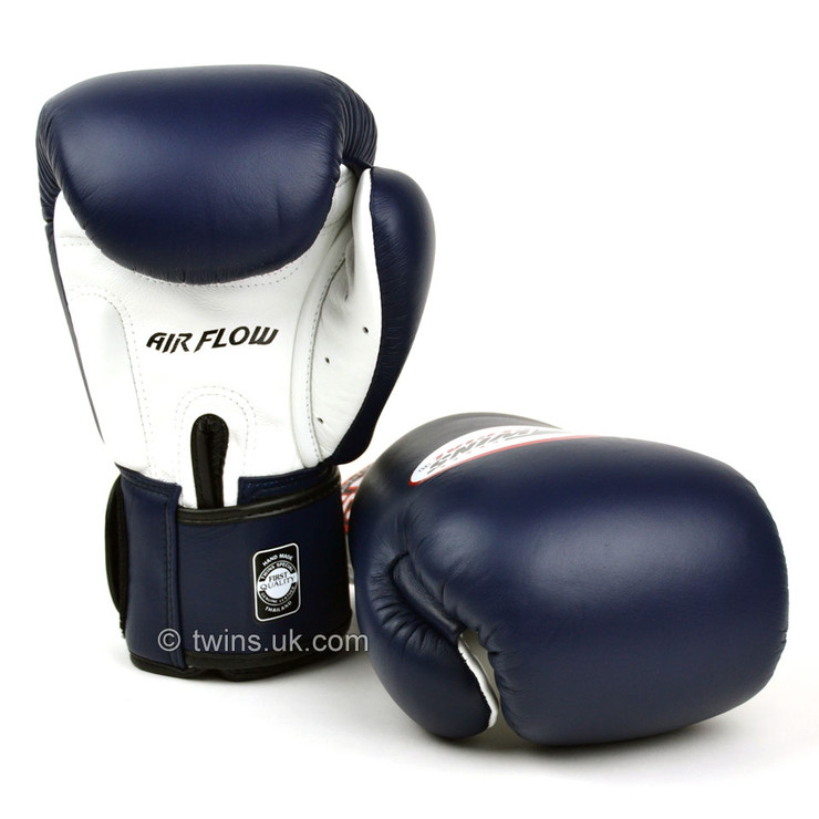 Twins BGVLA-2 Air Flow Boxing Gloves Navy