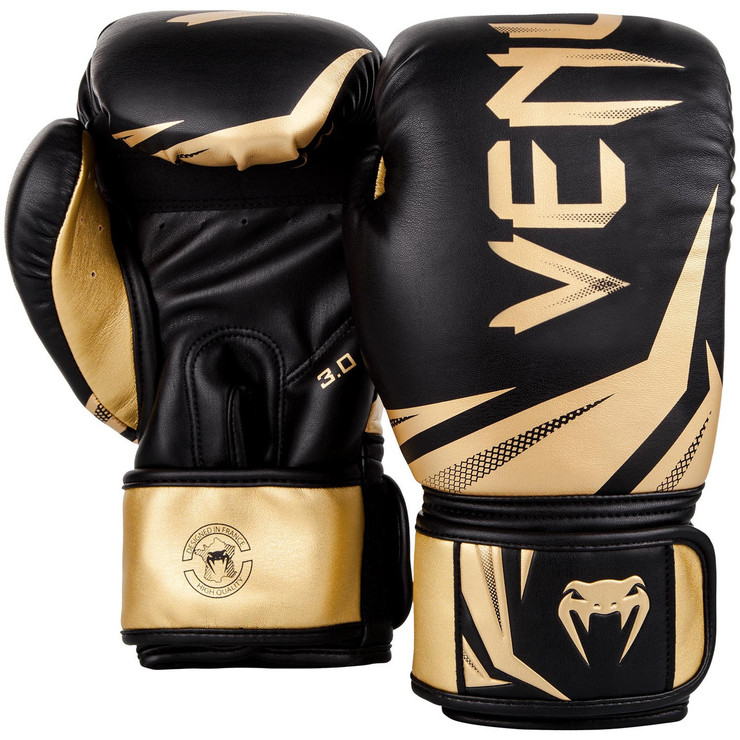 Venum Challenger 3.0 Boxing Gloves Black/Gold